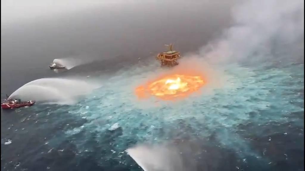 «Feuerauge» brennt im Golf von Mexiko