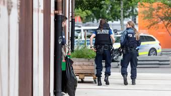 Anruf löst Grosseinsatz bei der Berufsschule in Baden aus