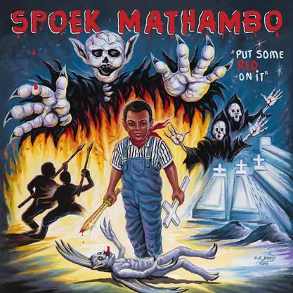 Das Cover von Spoek Mathambo