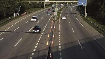Nach dem Ausbau der Zürcher Nordumfahrung auf sechs Spuren plant der Bund ein Verkehrsregime, zu dem auch Temporeduktionen gehören. Generell sei aber hohe Geschwindigkeit vorgesehen. zvg