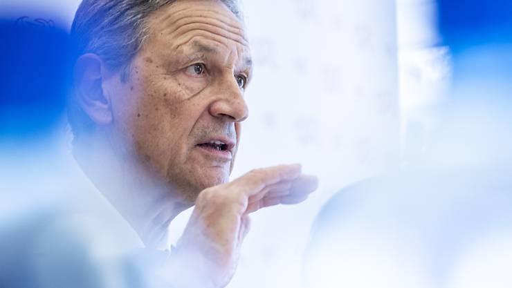 SFV-Präsident Dominique Blanc ist mit dem Coronavirus infiziert. Als 70-Jähriger ist er in einer Altersgruppe mit erhöhter Gefahr für schwerwiegende Folgen