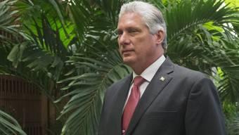 Miguel Díaz-Canel ist vom Parlament in Havanna zum neuen Staatspräsidenten von Kuba gewählt worden. (Archiv)