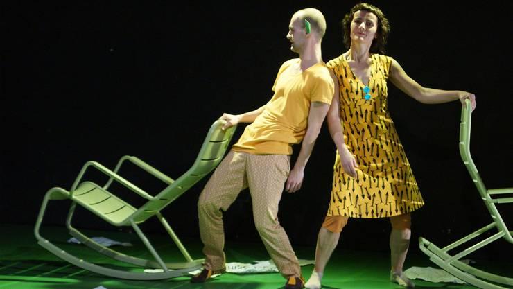 Ivan Blagajcevic und Brigitta Schrepfer loten aus, was der Körper mit einem macht, wenn man etwas unbedingt will.