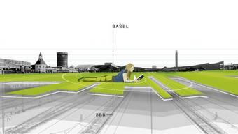So soll der Central Park Basel einmal aussehen