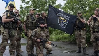 Ukrainische Truppen haben Slawjansk zurückerobert