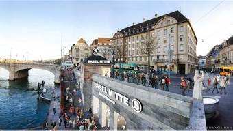 Das Milliarden-Projekt «Herzstück» soll das Basler S-Bahn-Netz deutlich stärken. Illustration zVg