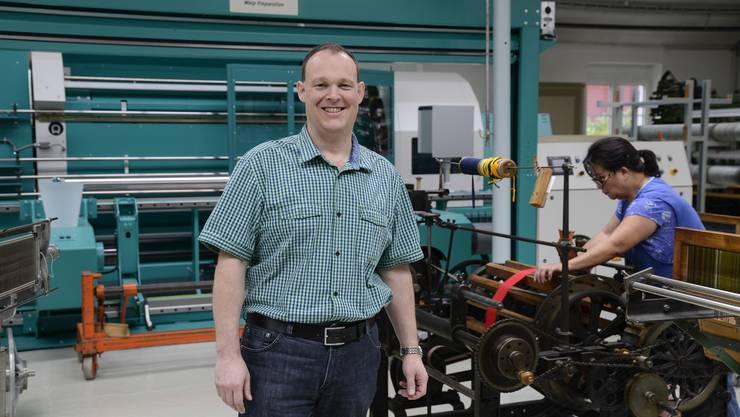 Hans-Jörg Moser spricht von einer guten Mischung in seinem Maschinenpark – zwischen «uralt und topmodern».