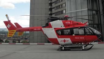Das Bürgerspital Solothurn konnte nicht mehr helfen, darum wurde Elvira schliesslich zur Behandlung  ins Inselspital geflogen