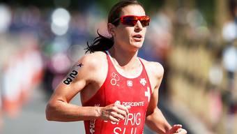 Läuft am Heim-Weltcup in Lausanne überlegen zum Sieg: Nicola Spirig