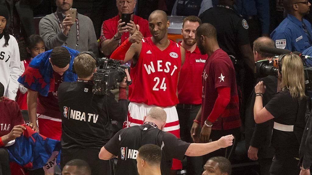 Kobe Bryant wurde gebührend verabschiedet