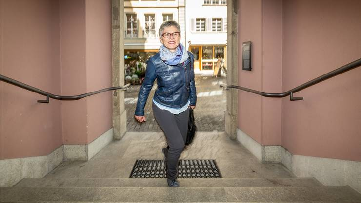 Bis zum Umzug ins Hünerwadelhaus führt Vizeammann Franziska Möhls Weg weiterhin ins Rathaus. Bild: Chris Iseli