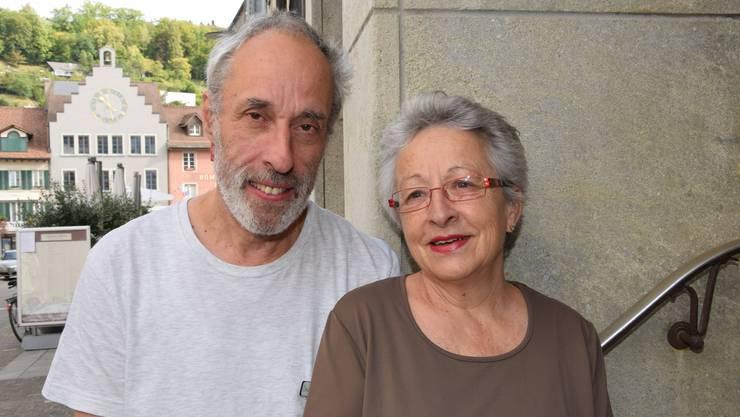 Max Kuhn und Bernadette Kuhn von der Apotheke Drogerie Kuhn AG in Brugg engagieren sich für das Kulturhaus Odeon