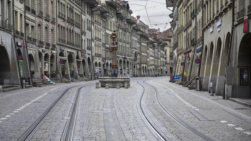 Stadt Bern rechnet wegen Coronakrise mit roten Zahlen