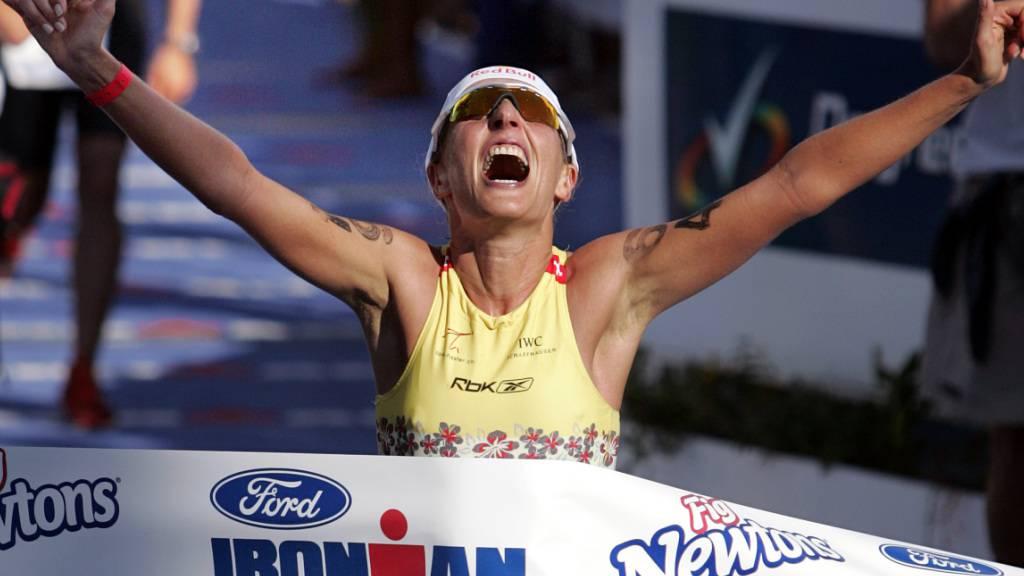 Natascha Badmann gewann den Ironman auf Hawaii sechsmal, zum letzten Mal 2005