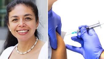 Maria Inés Carvajal empfiehlt Risikopatienten eine Impfung.