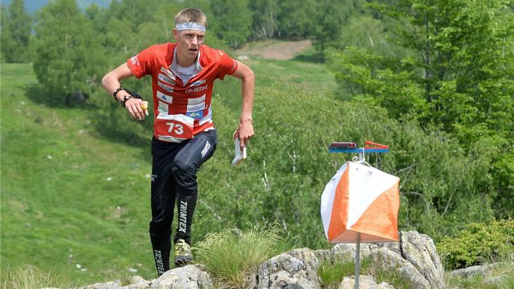Bei der Heim-EM holte Matthias Kyburz vier Medaillen, darunter erstmals eine in der Langdistanz (im Bild). Am Wochenende krönte er seine Saison mit dem dritten Gesamtweltcup-Sieg in Serie.