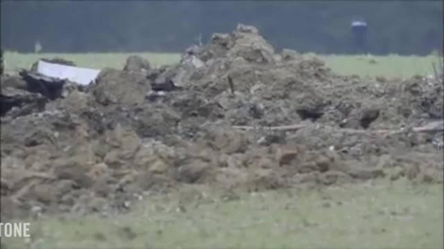 F/A-18-Absturz: Erste Aufnahmen vom Unfallort