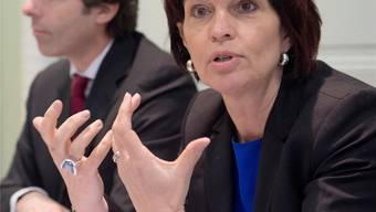 Medienministerin Leuthard: «Weshalb sollen wir grosszügig sein und den Markt ins Ausland abwandern lassen?» KEY