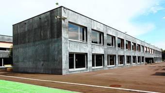 Kredit unterschritten: Die Bauabrechnung zeigt, dass das Oberstufenzentrum günstiger wurde als erwartet. (Bild: Felix Gerber)