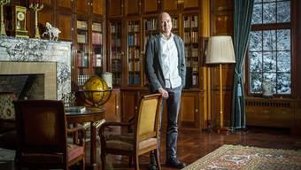 Der Museumsdirektor Markus Stegmann ist seit einem Jahr im Amt und führt das Museum Langmatt in Baden. Aufgenommen am 4. Januar 2017.