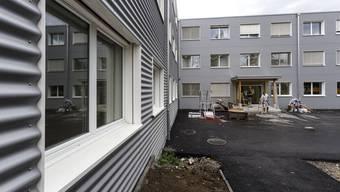 Bundesasylzentrum im Schachen in Deitingen: Hier wird noch gebaut. (Archiv)