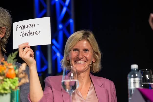 Die gebürtige Solothurnerin ist am Sonntag im Kanton Graubünden in den Nationalrat gewählt worden.