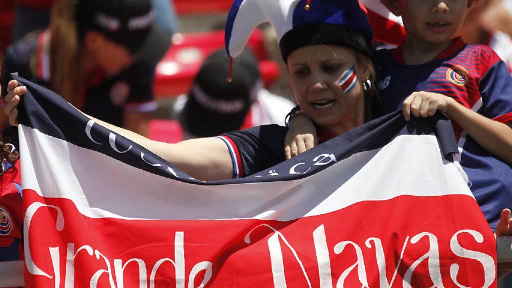 Real-Torhüter Keylor Navas ist der grösste, aber nicht einzige Hoffnungsträger im Team von Costa Rica