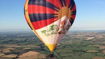 Die Tour des Ballons Tashi hat in Winterthur, Zürich und Luzern bislang keine Landeerlaubnis erhalten.