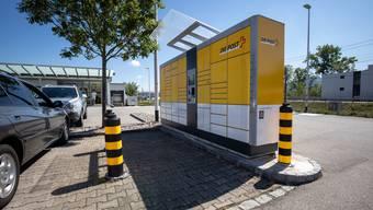 Der My-Post-24-Automat bei der Usego.
