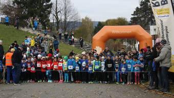 Auch zahlreiche Kinder nahmen am Lauf teil.
