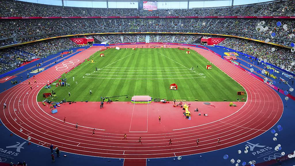Im Stade de France kämpfen die Leichtathleten um Medaillen