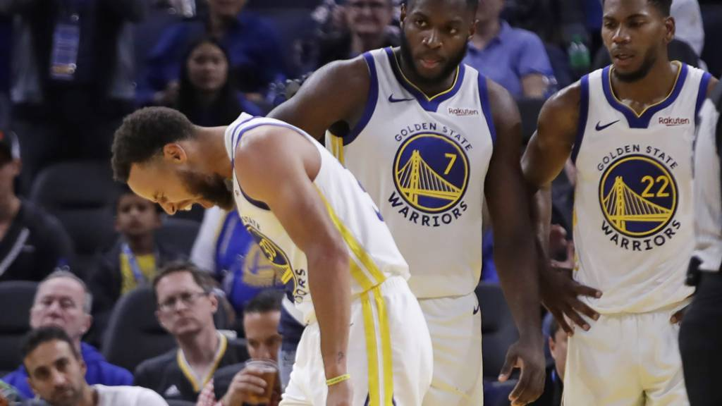 Golden State muss Krise ohne Curry überstehen