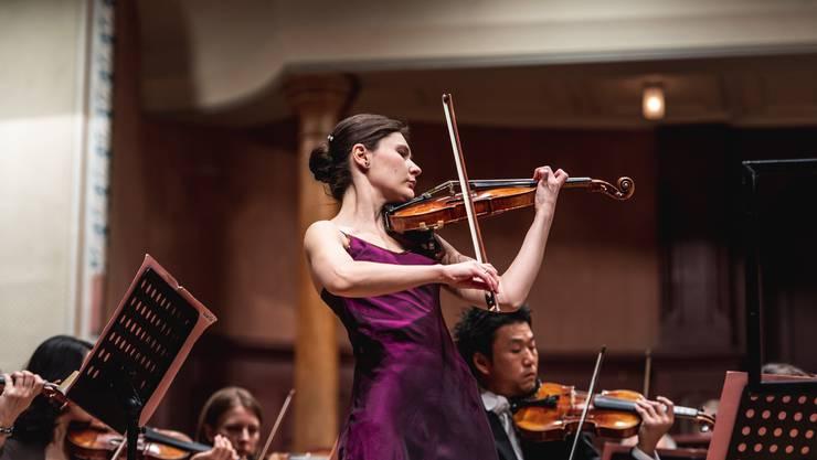 Die Französin Fanny Clamagirand gilt als eine der besten Violinistinnen ihrer Generation.