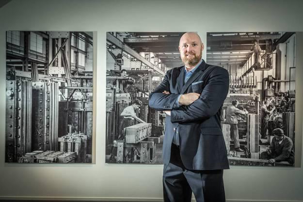 Hotelier Eric Roedenbeck begrüsst die Business-Gäste in einem Ambiente, das für jahrhundertealtes Unternehmertum steht.