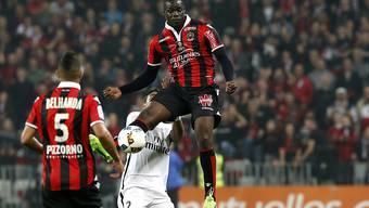 Mario Balotelli war der Überflieger beim Heimsieg von Nice gegen Paris St-Germain