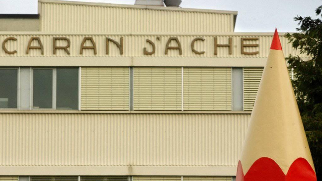 Der Caran-d'Ache-Sitz in Thônex im Kanton Genf. Das Unternehmen überlegt sich wegzuziehen.