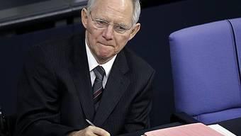 «Kein Interview»: Finanzminister Wolfgang Schäuble schweigt.