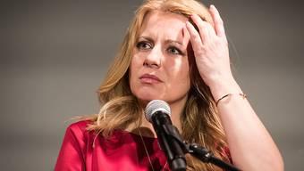 Die Bürgerrechtlerin und Rechtsanwältin Zuzana Caputova könnte die erste Präsidentin der Slowakei werden.