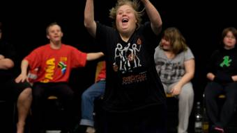 "Szene aus ""Disabled Theater"" (Foto Theater Hora)"
