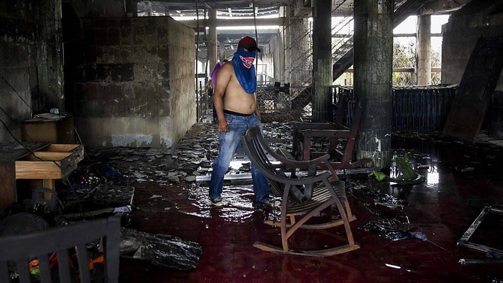 In Nicaragua hat es am Samstag bei Unruhen erneut zahlreiche Tote gegeben - und dies, obwohl zwischen den Konfliktparteien ein Gewaltverzicht vereinbart worden war.
