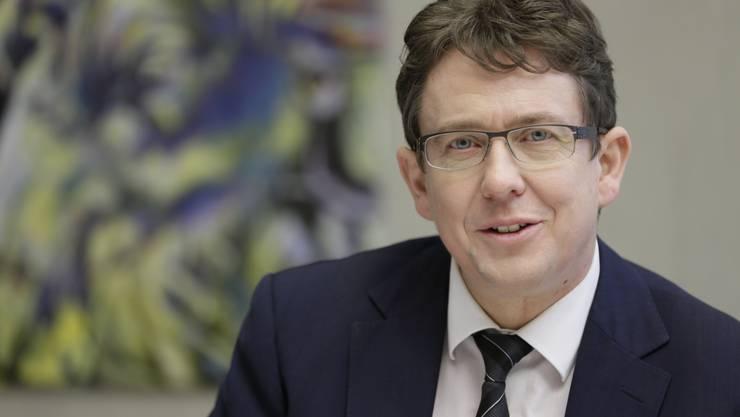 Festredner am SVP-Raclette-Abend: Parteipräsident Albert Rösti