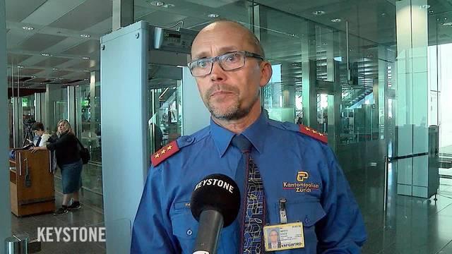 Sprengstoffkontrollen am Flughafen Zürich