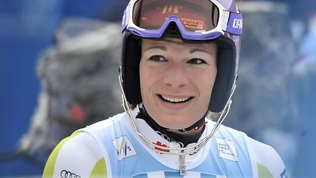 Maria Riesch steht als Gesamtweltcupsiegerin fest.