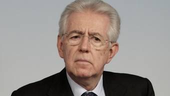 Der italienische Premierminister Mario Monti (Archiv)