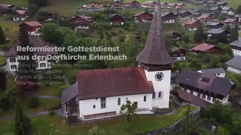 Reformierter Gottesdienst aus der Dorfkirche Erlenbach