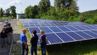 Die Photovoltaikanlage des Abwasserverbandes erzielte 2017 eine gute Leistung.
