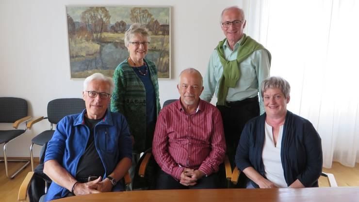 Das Boniswiler Betreuer-Team.