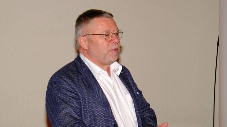 Jürg Rubin (Menziken) gab als Gemeinderat und Vorstandsmitglied den Rücktritt.