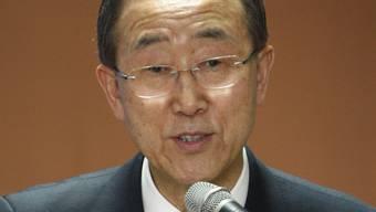 Der UNO-Generalsekretär Ban Ki Moon (Archiv)