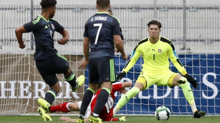 Gregor Kobel als Junior im Dress der Schweizer Nationalmannschaft